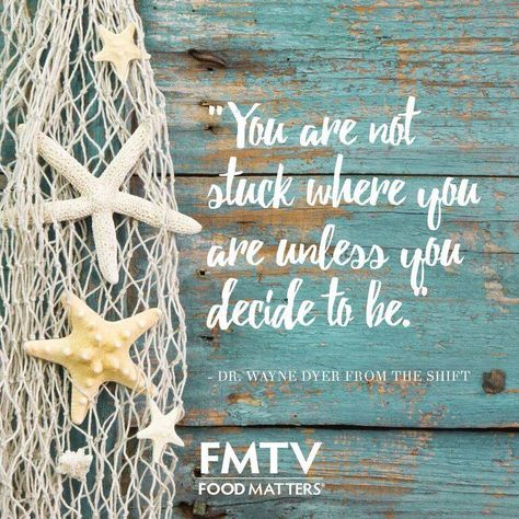 Words from the late, but the ever inspiring Dr. Wayne Dyer.  Wayne has touched so many people's hearts, let him touch yours, start streaming The Shift here on FMTV --> https://www.fmtv.com/watch/the-shift