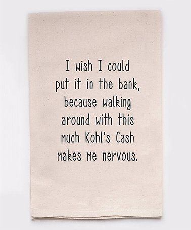 Kohl S Cash Dish Towel Zulily Zulilyfinds In 2020 Dish Towels