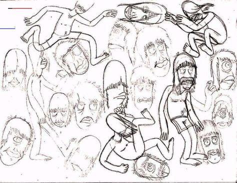 #goon #goons #goonbrigade #art #design #draw #drawing #cartoon #characters #penandink  #fun #dudes #guys #hairy #weirdo #friends #kids #children #boys #girls #awesome #cool #run #jog #kidsroom #poster #wallart #wallpaper #pattern #print #screenprint #silkscreen #picture #repetition #sketch #sketches #pencil #head #faces #practice #dingus<br>
