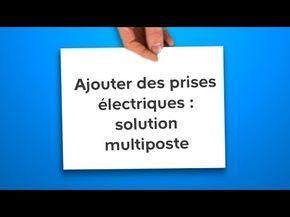 Ajouter Des Prises Electriques Solution Multiposte Castorama Youtube Pose Fenetre Porte De Garage Basculante Castorama