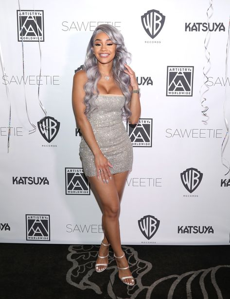 TBT to Saweetie's birthday when we made this 'saweet' backdrop for her!  Saweetie, rapper / songwriter was signed to Warner Bros. Records after her debut single,