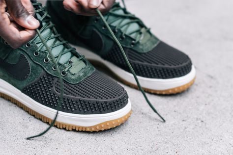 Nike Lunar Force 1 Duckboot - BAROQUE BROWN / ARMY OLIVE | Things to Wear |  Pinterest | Nike lunar, Army and Nike sportswear