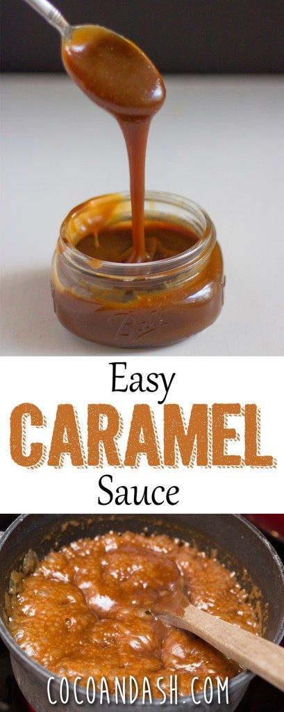 Easy Caramel Sauce - Coco and Ash - the evaporated milk at first and then going from there. The sauce will thicken up as the caramel co - Caramel Sauce Easy, Homemade Caramel Sauce, Caramel Recipes, Carmel Sauce Recipe, Caramel Apple Sauce, Caramel Recipe With Brown Sugar, Carmel Sauce For Apples, Caramel Sauce With Milk, Desserts Caramel