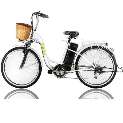 Nakto City Electric Bicycle Women 26 Best Electric Bikes