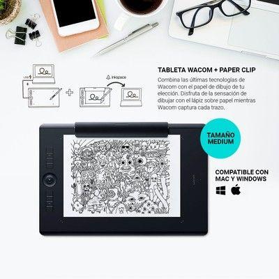 Tableta Grafica Wacom Intuos Pro Paper Edition Medium Bidcom Tableta Grafica Tableta Tabletas Graficas