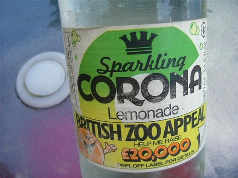 Corona Lemonade, delivered to your door by the pop man who took away the empties the next week and you got 2p off your next purchase. Also limeade, cherryade,dandelion and burdock or cidelea.