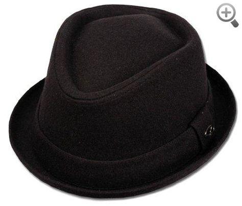 93d78664c3d34 Unisex Structured Wool Fedora Winter Hat ( 3 Colors )