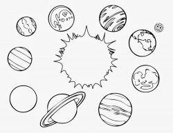 Okul Oncesi Uzay Gezegenler Boyama Sayfasi Gezegenler Boyama