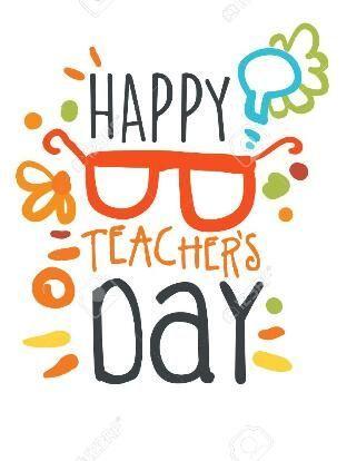 Pin By Li Xu On Painting Happy Teachers Day Card Teachers Day Greetings Happy Teachers Day