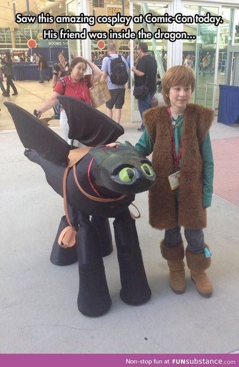 Funny pictures about How To Train Your Dragon Cosplay Is Too Good. Oh, and cool pics about How To Train Your Dragon Cosplay Is Too Good. Also, How To Train Your Dragon Cosplay Is Too Good photos.