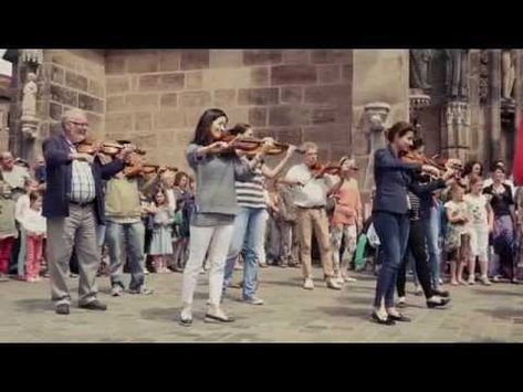 Flashmob Nurnberg 2014 Ode An Die Freude Youtube In 2020 With