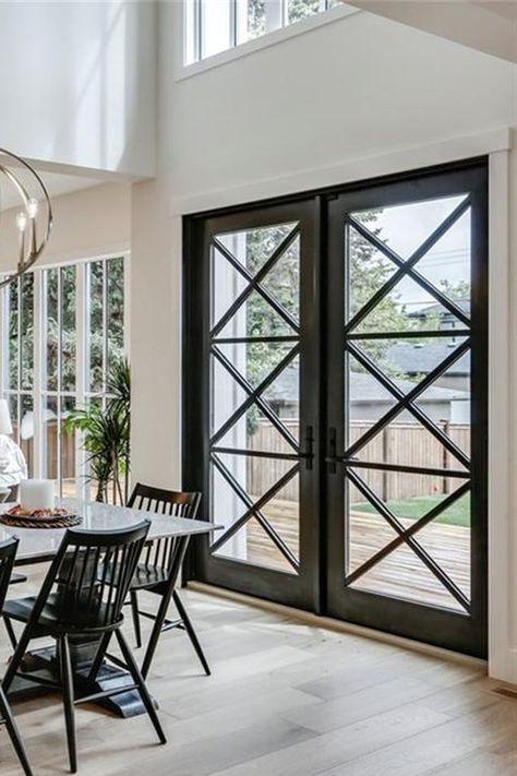 Exterior French Doors Patio Decks Dining Rooms 52 Ideas Modern Patio Doors French Doors Exterior Exterior Patio Doors