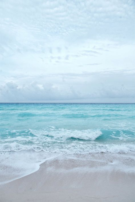 Beach Photography, Ocean Sea Summer, Aqua Blue Beach, Seashore Horizon, Surf Decor, Waves Crashing Onshore, Ocean Art, Seascape Art