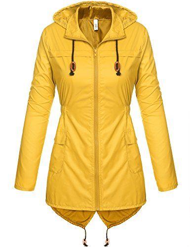 Damen Outwear Regenmantel Outdoor Regenjacke Kapuzenpullover Wasserdicht Hoodies