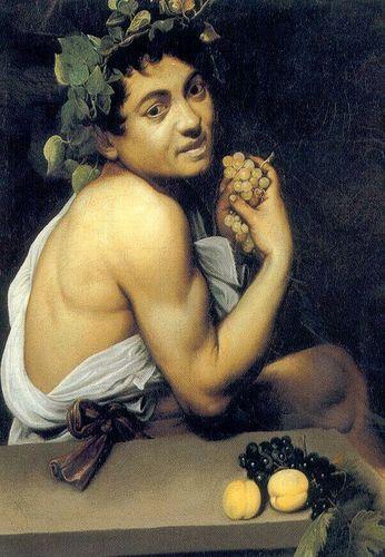 Le Jeune Bacchus Malade Bacchino Malato En Italien Est Un Tableau Execute Par Caravage Date Entre 1593 Et Conserve A Rome Dans La Galerie Borghese