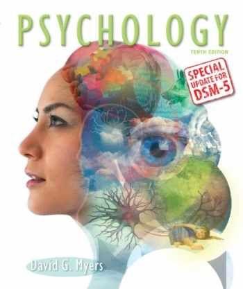 Testbank For Psychology With Updates On Dsm 5 10th Edition By David G Myers Psychology Studies Psychology Books Psychology