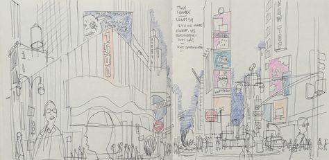 einzigartig dessin facile new york | kostenlose