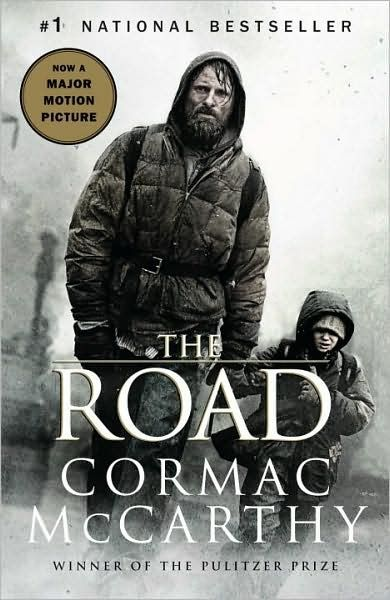 A novel by American writer Cormac McCarthy. It is a post-apocalyptic tale of a journey of a father and his young son over a period of several months, across a landscape blasted by an unspecified cataclysm that has destroyed much of civilization and, in the intervening years, almost all life on Earth. The book was adapted to a film by the same name in 2009, directed by John Hillcoat, starring Viggo Mortensen and Kodi Smit-McPhee. more see image link  - popculturez.com #Onedirection