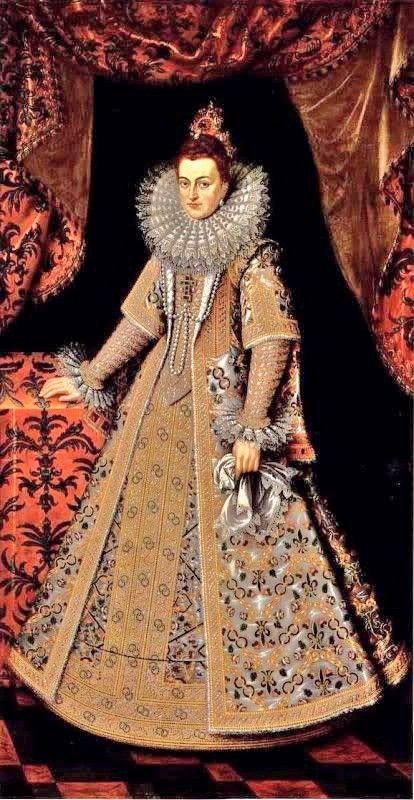 Infanta Isabella Clara Eugenia (1605) by Alonso Sanchez