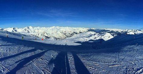 follow4follow 3 Valleys series #sky #alps...