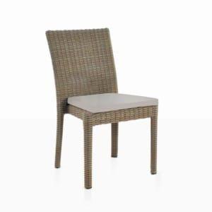 Romansa Wicker Dining Arm Chair Kubu Teak Warehouse Outdoor Dining Chairs Side Chairs Dining Dining Chairs