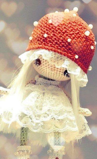 Garden Pals Amigurumi Crochet Pattern (Easy Crochet Doll Patterns ... | 664x408