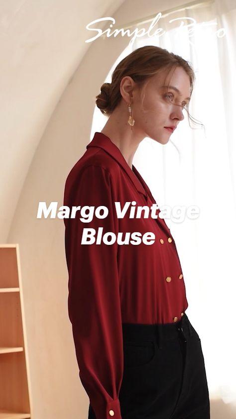 Margo Vintage Blouse