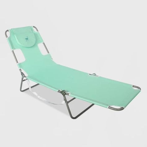 Beach Lounger With Carrying Strap