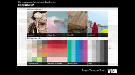 WGSN - Entrenamiento Intensivo de Tendencias: Color 2013