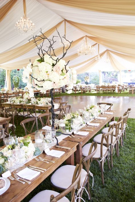 Glamorous Garden Party From Magnolia Weddings Wedding Tables