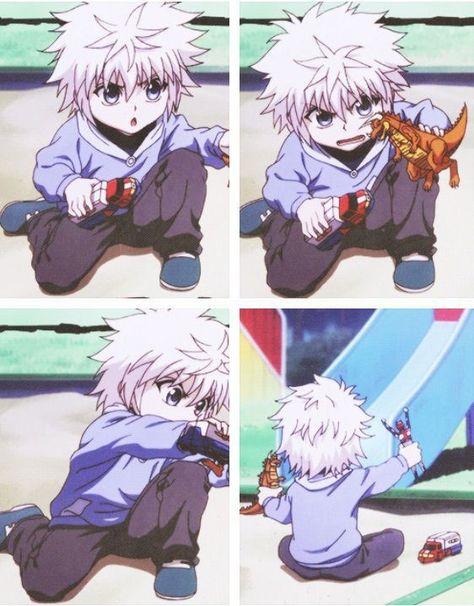 Killua Zoldyck ~Hunter X Hunter - this is so kawaii Anime Meme, Me Anime, Girls Anime, Fanarts Anime, Manga Anime, Anime Art, Killua, Hisoka, Alluka Zoldyck