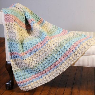 Check Out Plymouth Yarn F845 Hot Cakes Blanket Stitch Crochet Baby