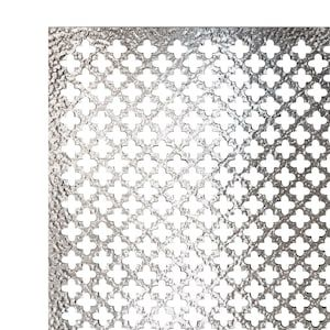 Steelworks 24 In X 36 In Aluminum Decorative Sheet Metal Lowes Com In 2020 Aluminum Sheet Metal Decorative Sheets Sheet Metal