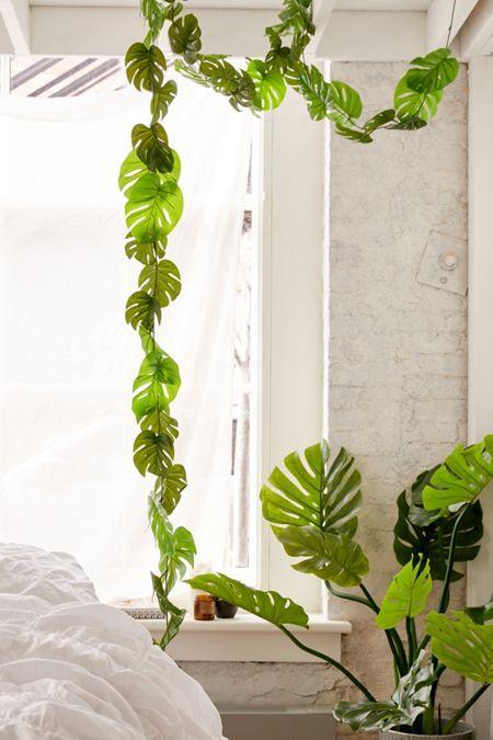 Decorative Vines Set In 2019 Bedroom Plants Plant Leaves