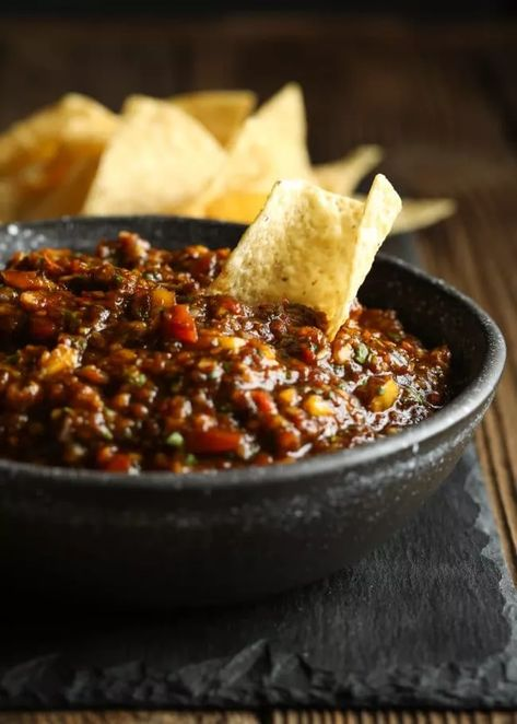 Salsa Al Pastor Recipe #ASpicyPerspective #whole30 #paleo #vegan #glutenfree