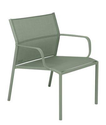 fermob cadiz low armchair green