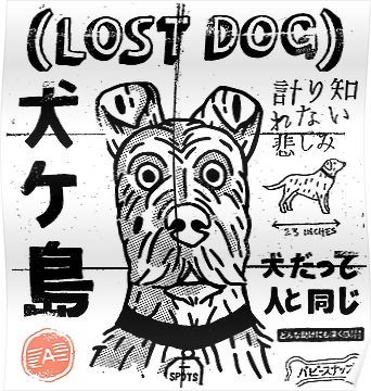 Lost Isle Of Dogs Poster Isle Of Dogs Isle Of Dogs Movie Dog Poster