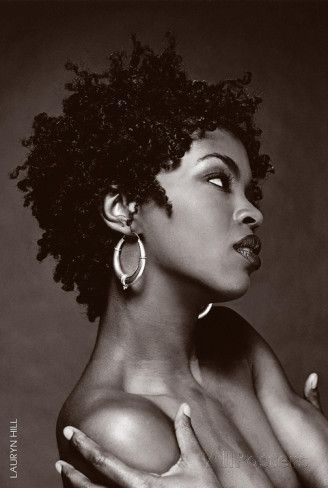 Lauryn Hill B/W Posters at AllPosters.com