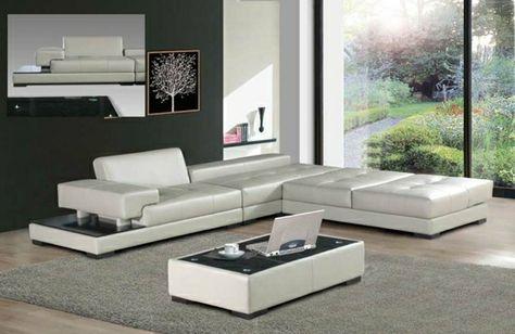Divani Moderni Pelle Design.Cool Design Moderni Per La Decorazione Del Salotto Con Divani In