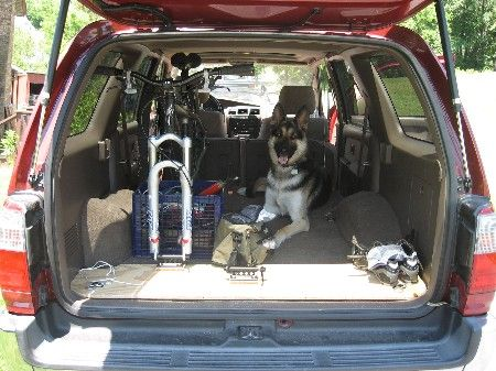 Diy Internal Suv Mountain Bike Mount Vw Caddy Pinterest Bike