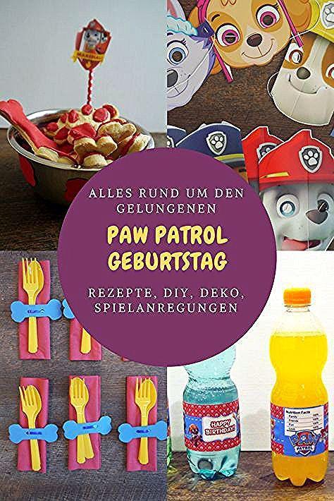 Paw Patrol Geburtstag Deko Essen Getranke Spiele In 2020