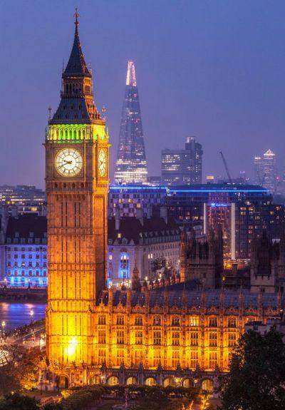 ساعة بيغ بن الشهيرة بمدينة لندن في إنجلترا London Attractions Big Ben Sightseeing