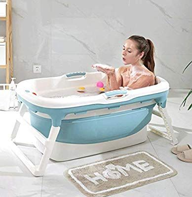 Ldg Adult Folding Bath Tub Portable Bathtub Household Plastic Spa