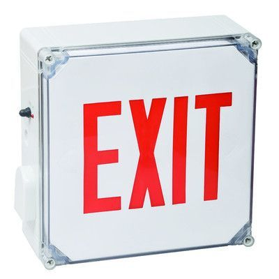 Morris Products Wet Location LED Exit Sign Battery Backup Unit - exit letter