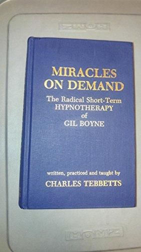 Pdf Download Miracles On Demand Radical Short Term Hypnotherapy