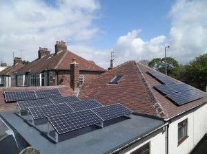 16 X Panasonic 240w Solar Panels On Pitched Roof And Flat Roof Solarpanels Solarenergy Solarpower Solargenerator Sola Solar Panels Flat Roof Best Solar Panels