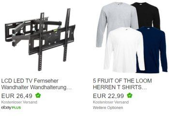 Fruit Of The Loom Funferpack Langarm Shirts Fur 22 99 Euro Frei