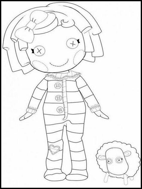 disegni da colorare per bambini da stampare lalaloopsy 3