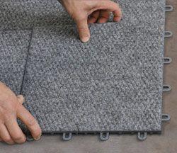ThermalDry Basement Floor Tiles - Dry Basement Floor | My house! |  Pinterest | Basement flooring, Basements and Basement repair