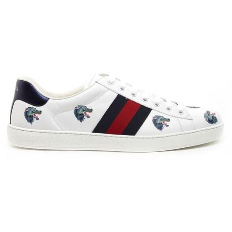 747505ac7a1 GUCCI  New Ace  Sneakers ( 695) ❤ liked on Polyvore featuring men s fashion